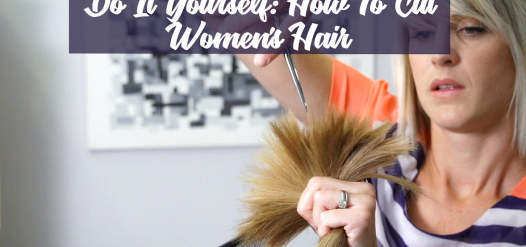 How to cut womens hair
